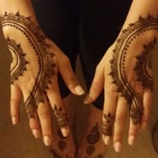 Mehndi designs by Vandana Makkar 21