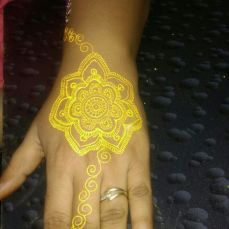 Mehndi designs by Vandana Makkar 22