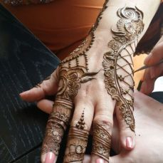 Mehndi designs by Vandana Makkar 24