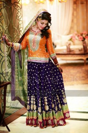 Mehndi outfits 03