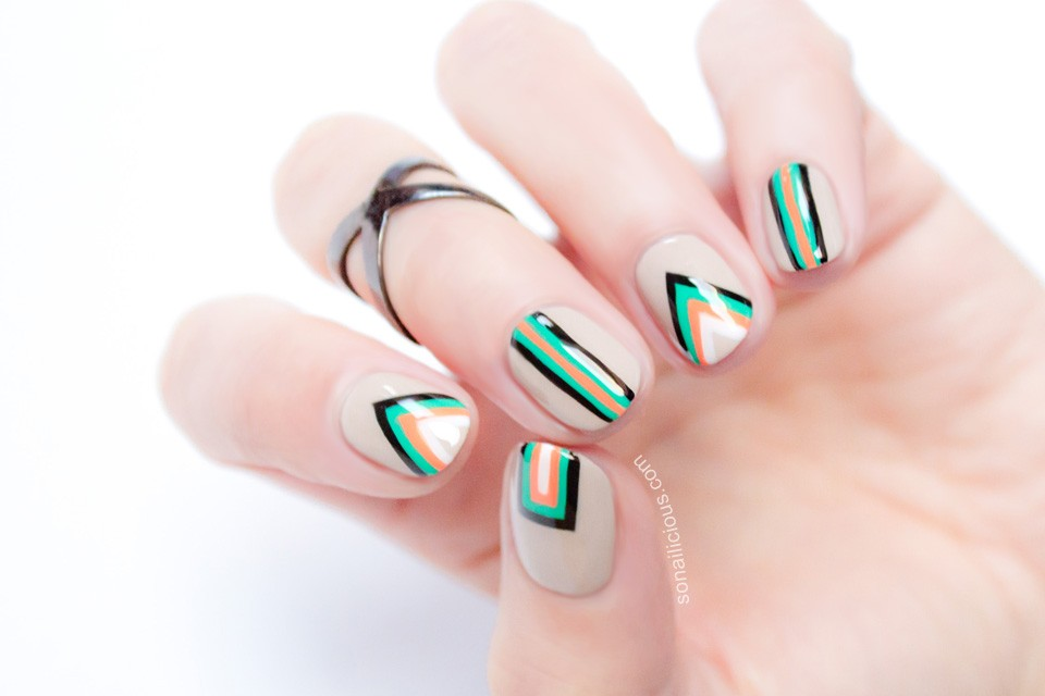 20 Vibrant Nail Art Designs To Sport On Navratri Indian Makeup And