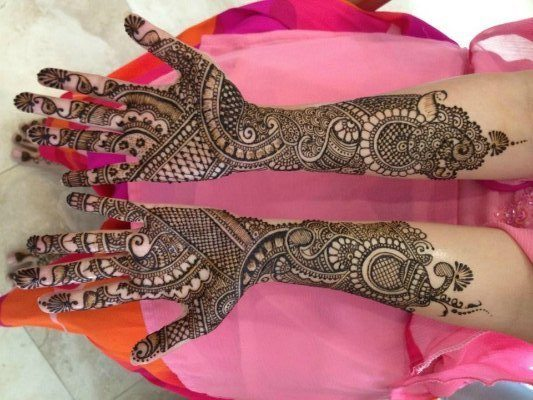 Mehndi Design For Bridal Collection : Mehndi design bridal collection finest saloon