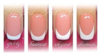 French nail manicure 03