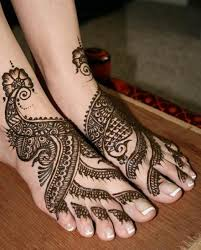 Mehendi designs for feet 02