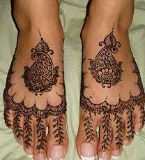 Mehendi designs for feet 04