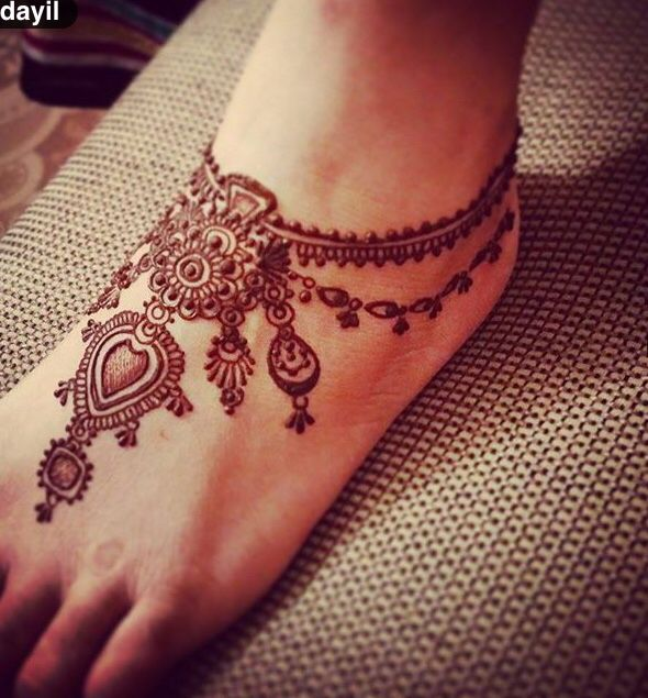 Mehendi Designs For Feet 08 Indian Makeup And Beauty Blog Beauty