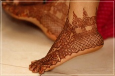 Mehendi designs for feet 10