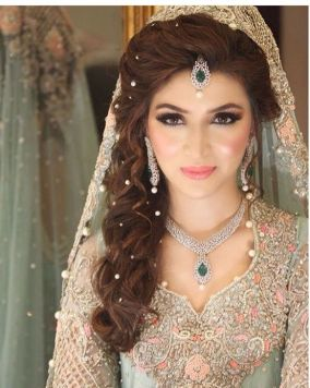 Indian bridal hairstyles 135