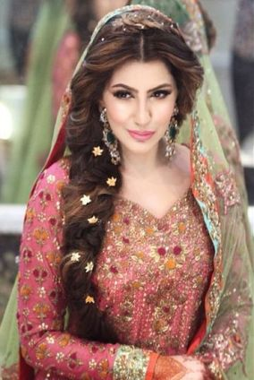 Indian bridal hairstyles 137
