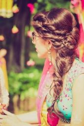 Indian bridal hairstyles 140