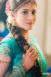 Indian bridal hairstyles 141