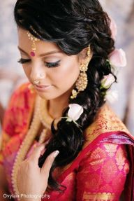 Indian bridal hairstyles 144