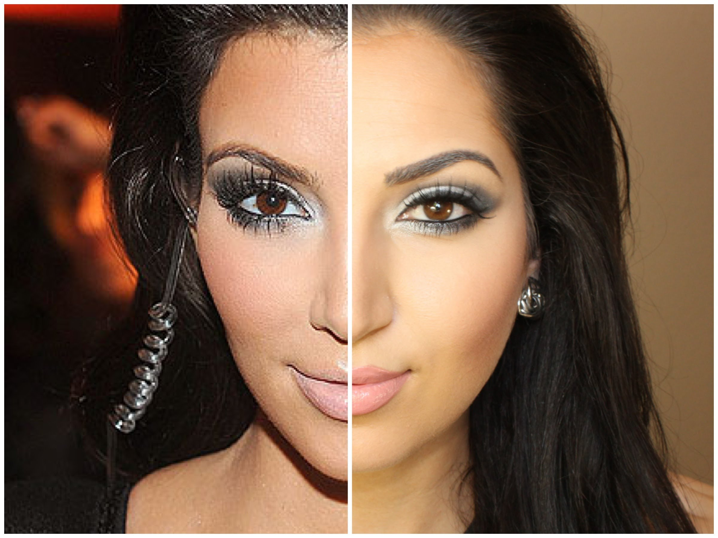 How to recreate Kim Kardashian's eye makeup look in 3 simple