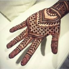 Beautiful mehndi designs 17