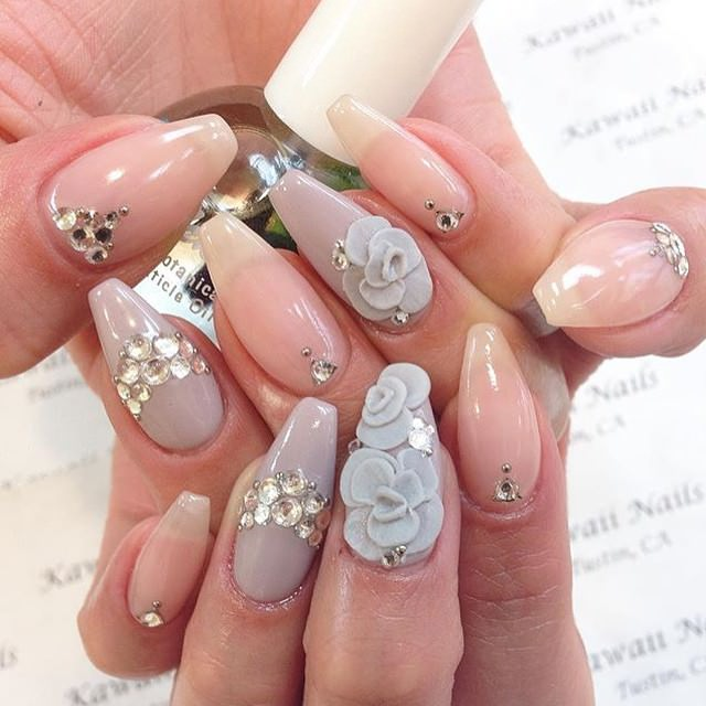 Acrylic flower nail designs choice image nail art and nail acrylic nail designs 16 indian makeup and beauty blog beauty acrylic nail designs 16 prinsesfo choice prinsesfo Image collections