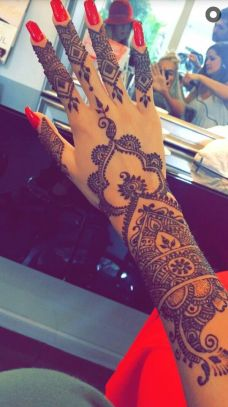 Arabic mehndi designs 73