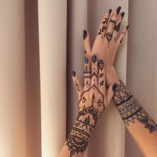 Arabic mehndi designs 75