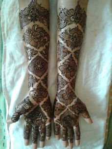 Arabic mehndi designs 76