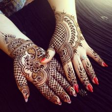 Arabic mehndi designs 82