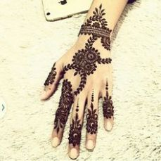Arabic mehndi designs 84