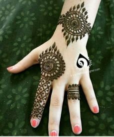 Arabic mehndi designs 86