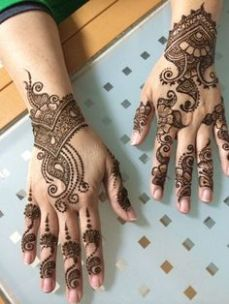 Arabic mehndi designs 87