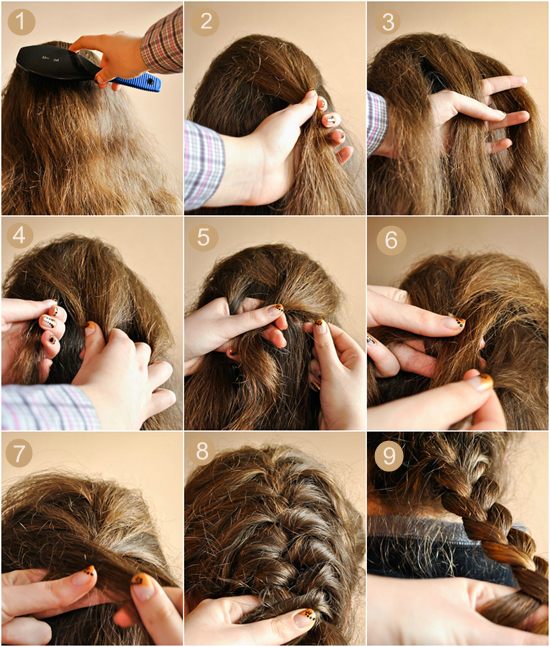 french hair style step by step 18 outstanding braid hairstyles to try this navratri 7325 | braid hairstyles 03