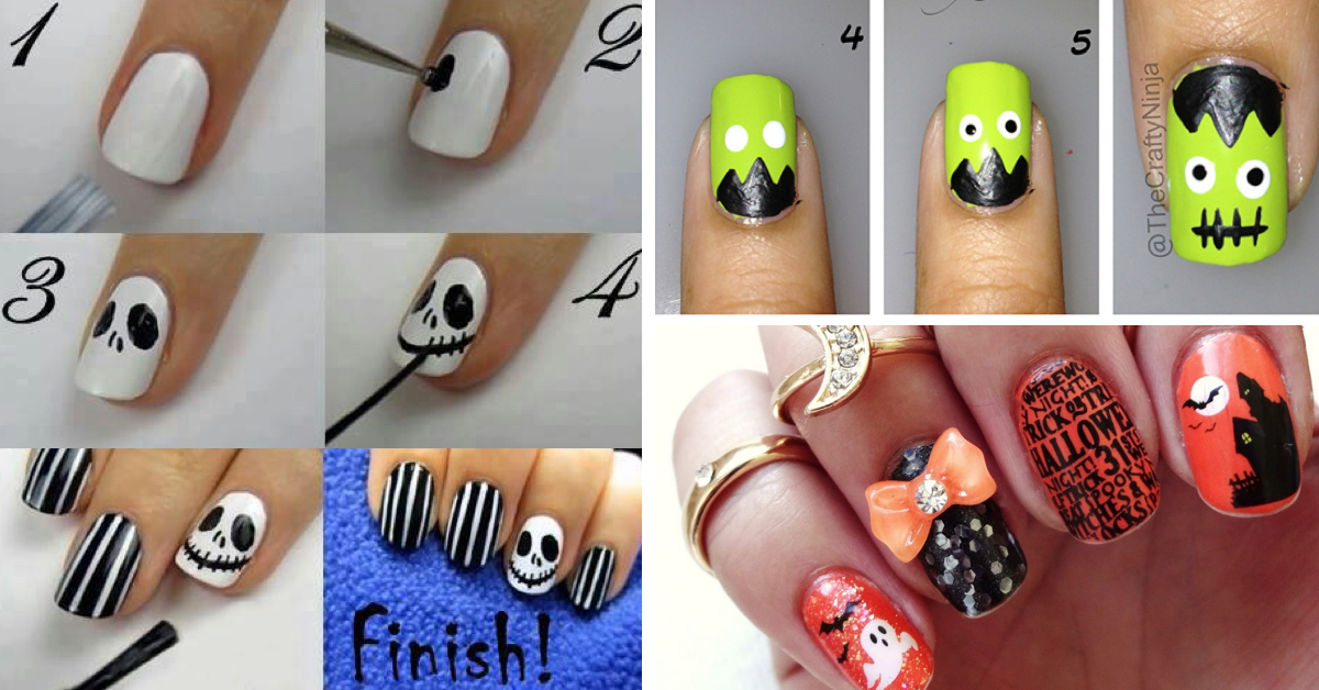 Nail Designs Halloween