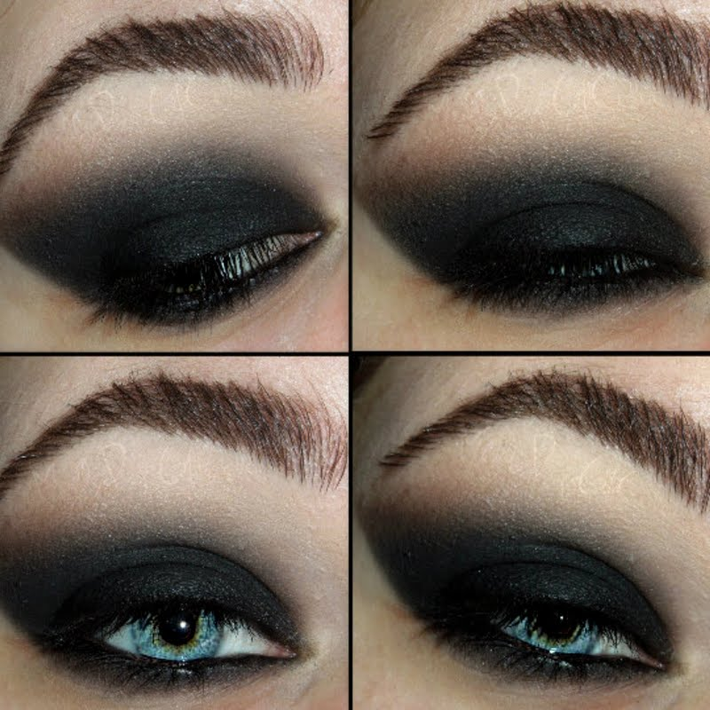 5 Classic Black Smokey Eye Looks For Winter Parties Indian Makeup