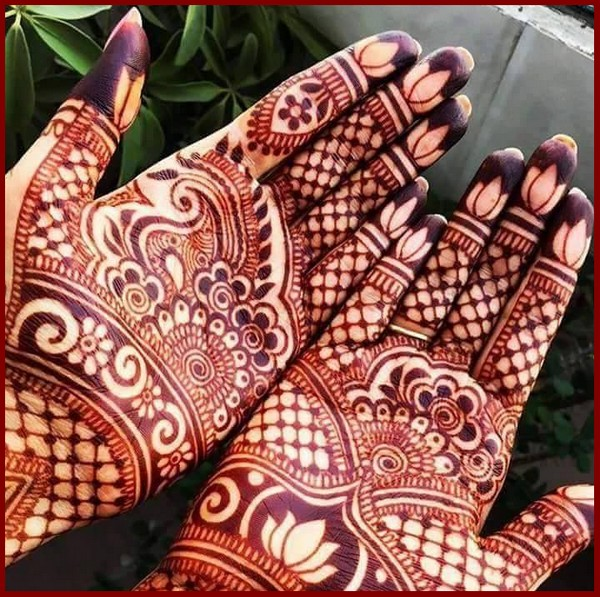 20 Beautful Henna Designs For Nikah: 20 Beautiful Mehndi Designs For A Winter Bride
