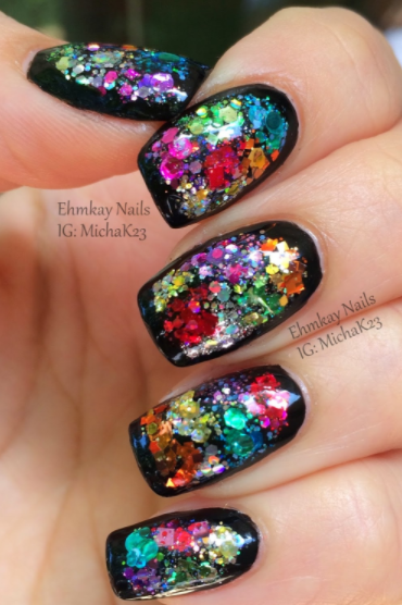 22 Pretty Nail Art Designs For New Years Eve Indian Makeup And