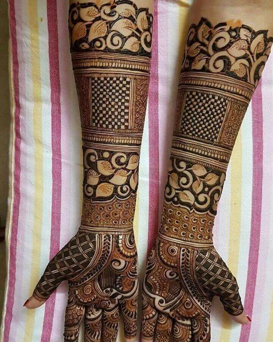 17 Beautiful Mehndi Designs For 2017 Brides  Indian Makeup And Beauty Blog