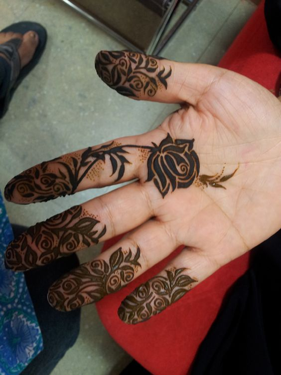 Floral Mehendi Designs 06 Indian Makeup And Beauty Blog Beauty