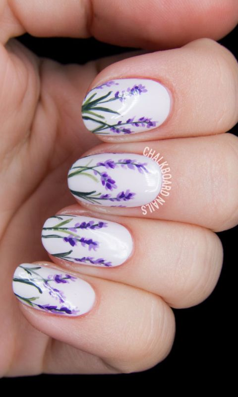 30 spring inspired nail art looks that will blow your mind nail art looks 07 prinsesfo Choice Image