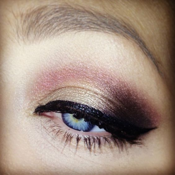 How To Use Rose Gold For A Glam Smokey Eye Makeup Indian Makeup