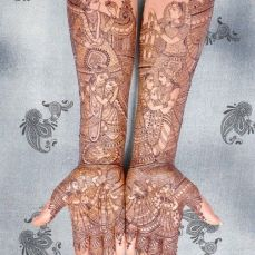 Beautiful Mehndi Designs 64
