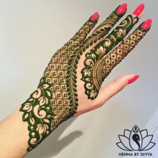 Beautiful Mehndi Designs 76