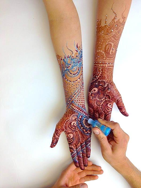 Beautiful Mehndi Designs 84