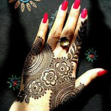 Beautiful Mehndi Designs 86