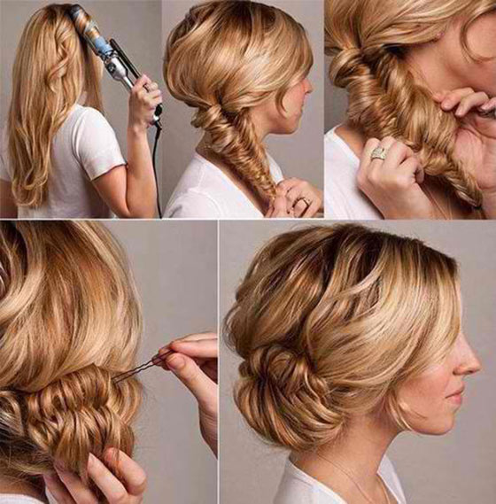 5 Step By Step Elegant Updo Hairstyles Decoded Indian Makeup And