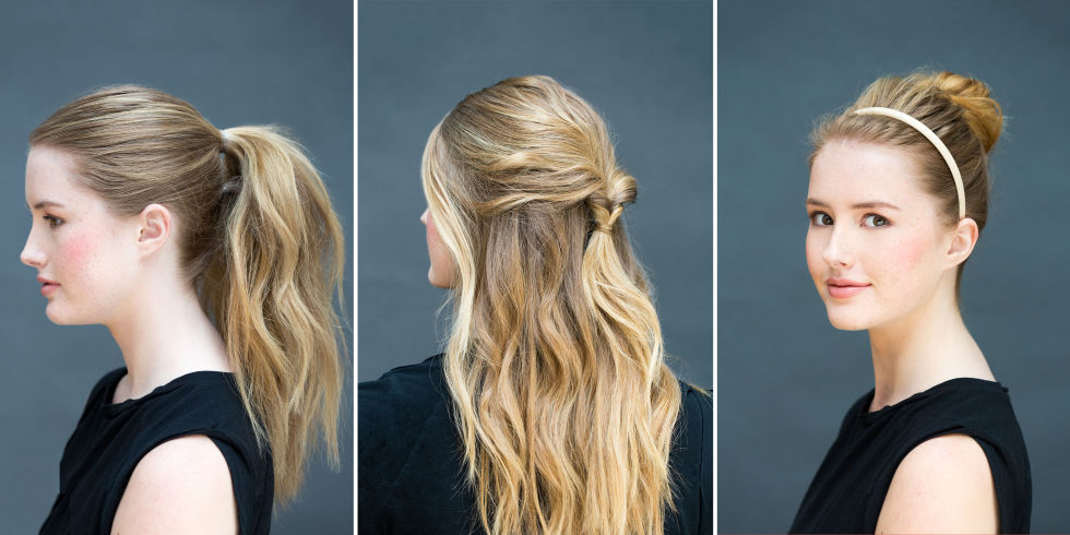 16 Easy Hairstyles You Can Do In 10 Seconds Indian Makeup