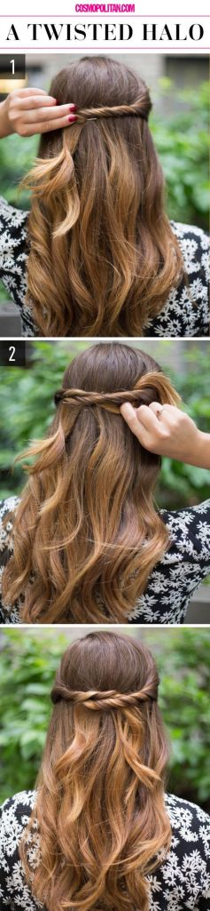 Easy hairstyles 14