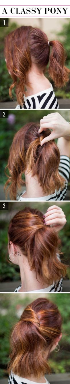 Easy hairstyles 22