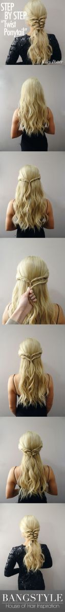 Easy hairstyles 24