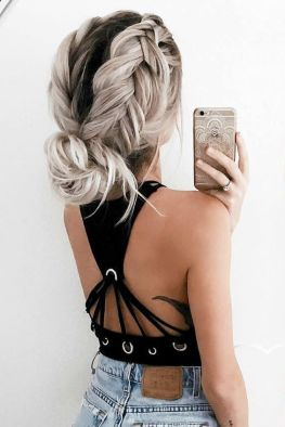 Easy hairstyles 27