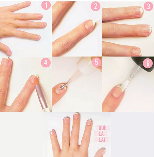 french manicure 12
