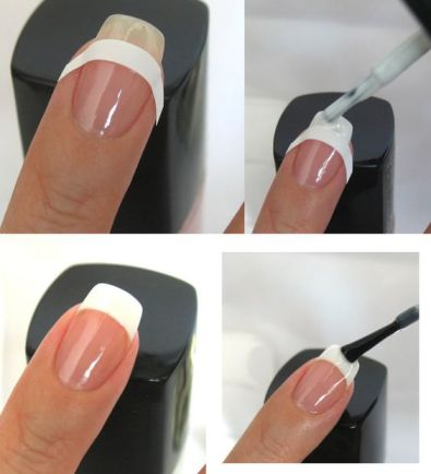 french manicure 13