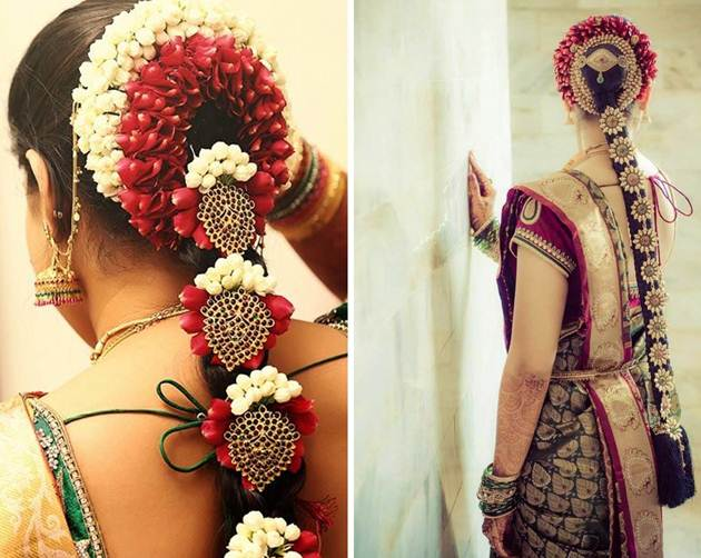 16 South Indian Wedding Hairstyles For Long Hair Indian