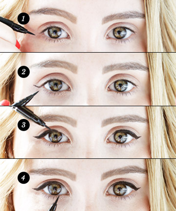How to apply liquid eyeliner 11