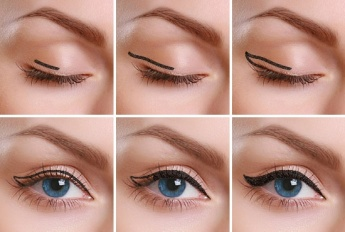 How to apply liquid eyeliner 12